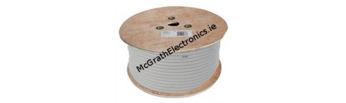 Coaxial tv satellite cable